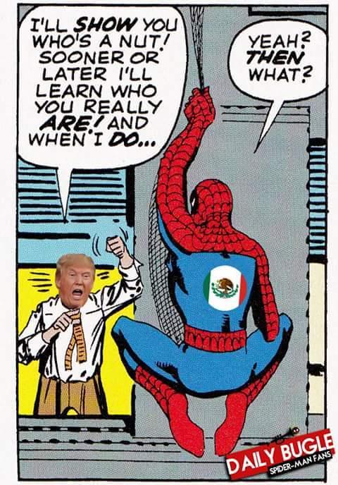 Hombre araña - meme