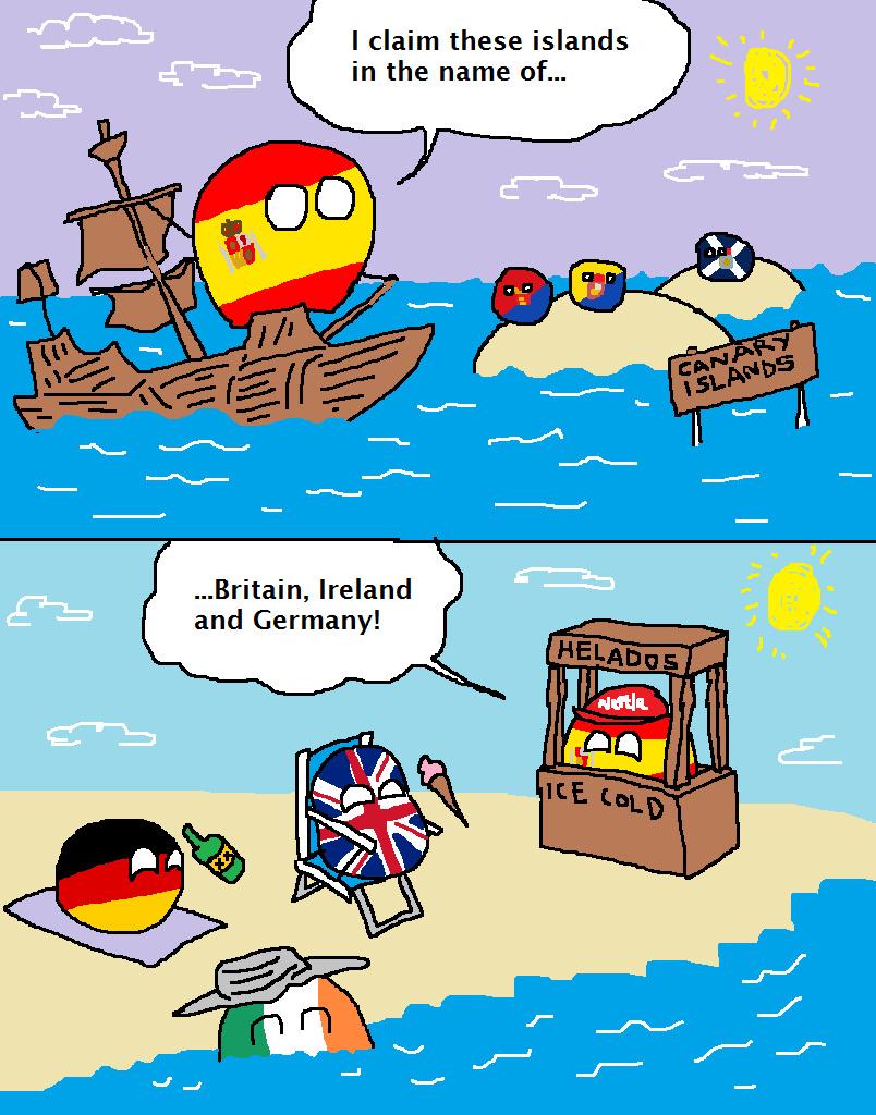 Can and air e islands - meme