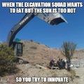 excavator memes