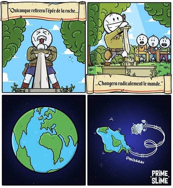La prophétie par Prime slime - meme
