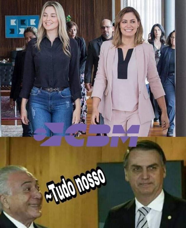 SENTIREI SAUDADES DO TEMER - meme