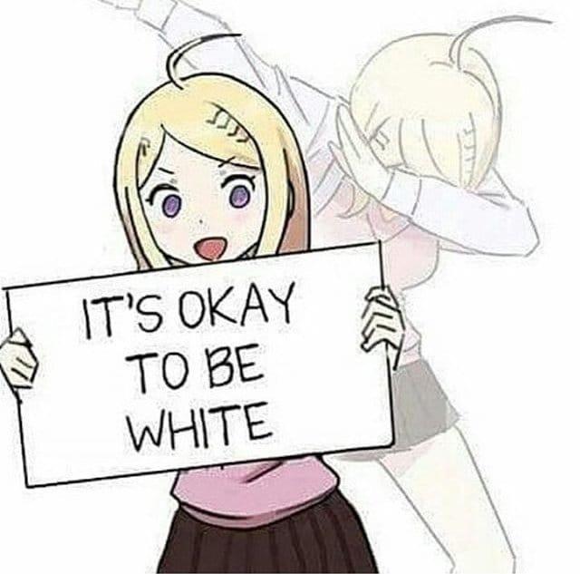 #WhiteAcceptance - meme