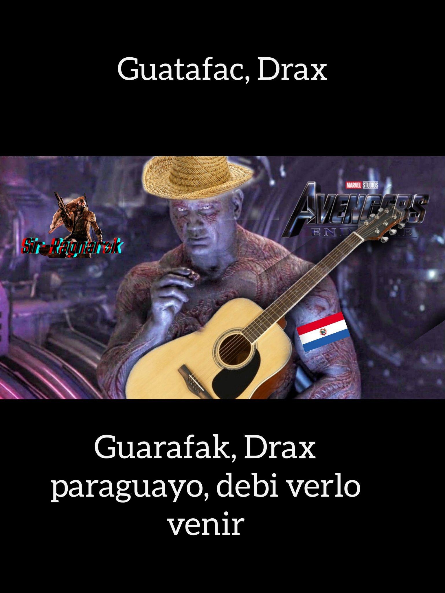 Mira mi guitarra y sombrero flotante :-D - meme