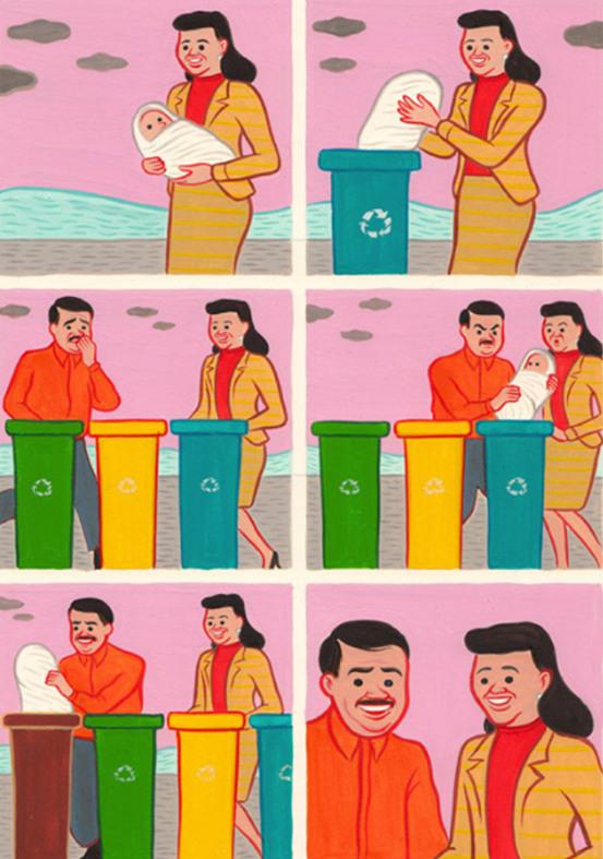 Recyclez vos enfants - meme