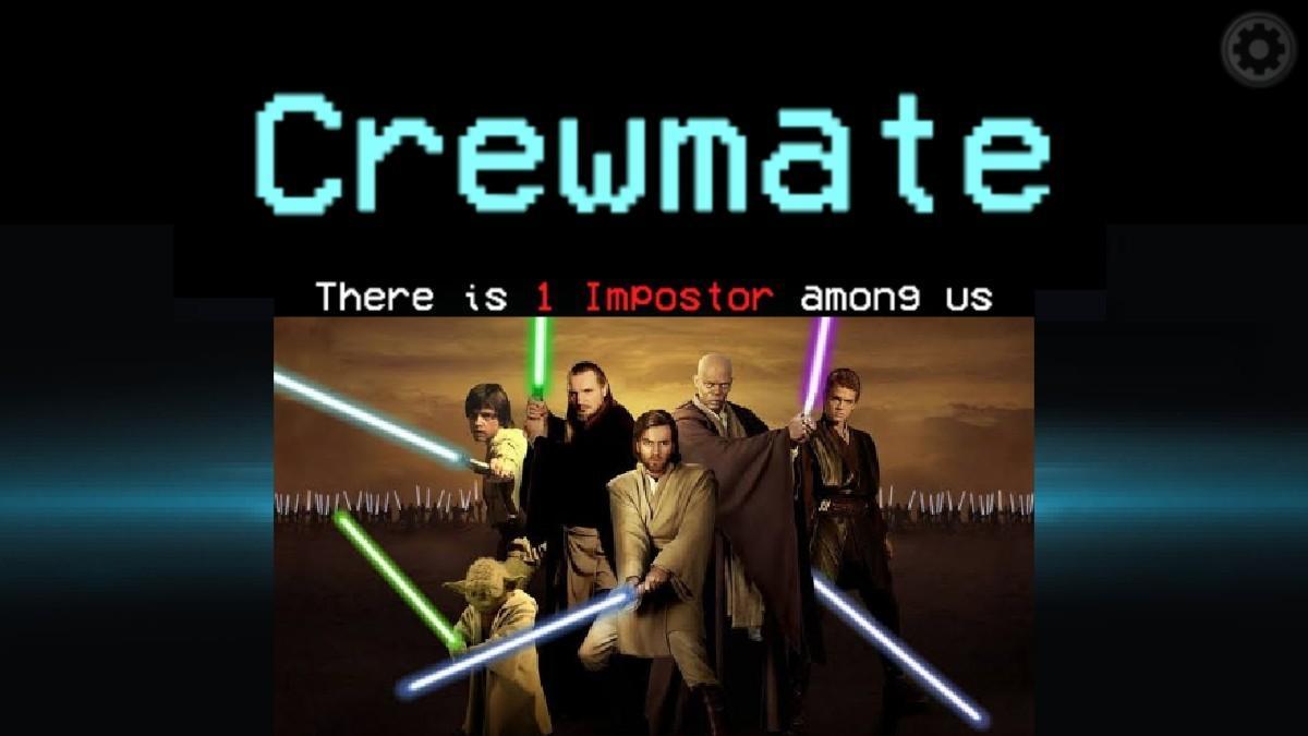Among us star Wars - meme