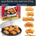 waffle cars