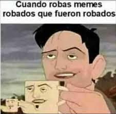 p.d. también fue robado - meme