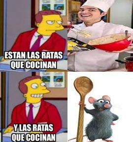 Yolo vs Ratatuil (Si se preguntan el tipo vestido de chef es Yolo) - meme