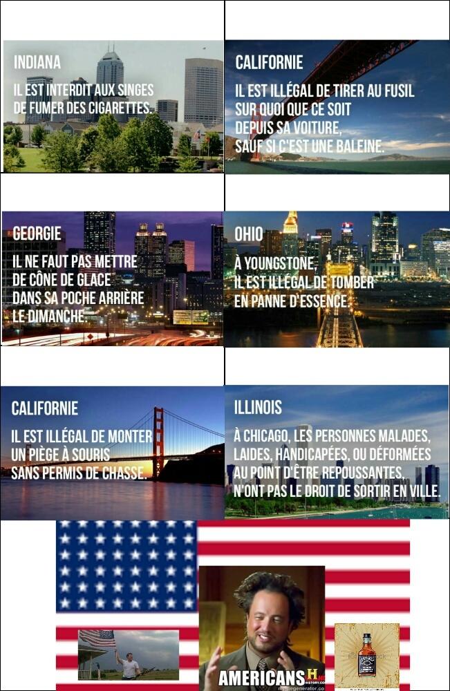 Ha, les États-Unis d'Amérique... - meme