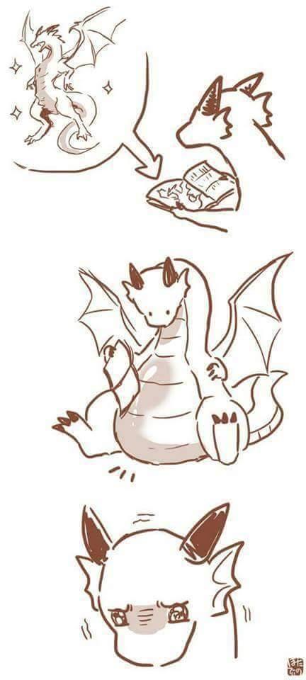 I'm this dragon - meme