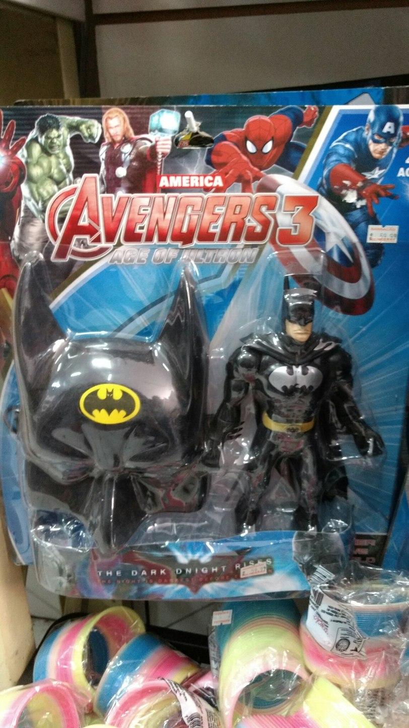 Confirmada a participação de batman na 3ª franquia de Avengers - meme