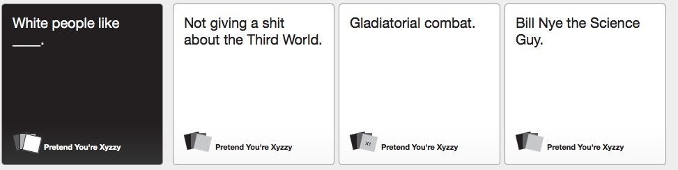 cards for your ass - meme