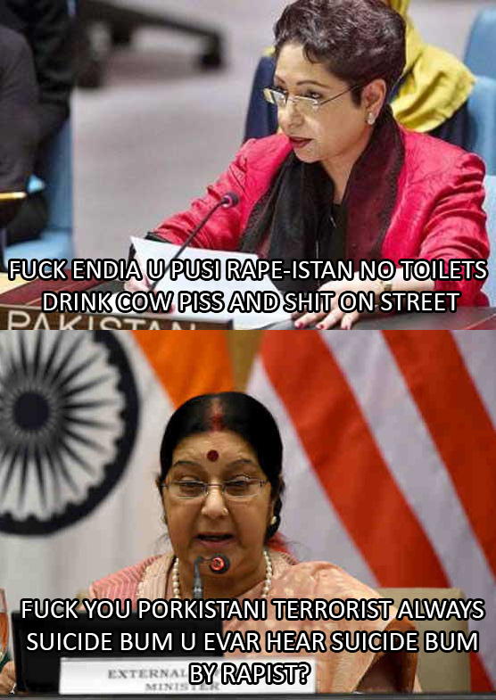 Meanwhile at UN Conference - meme