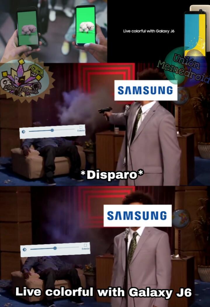 Este samsung con sus comerciales :/ - meme