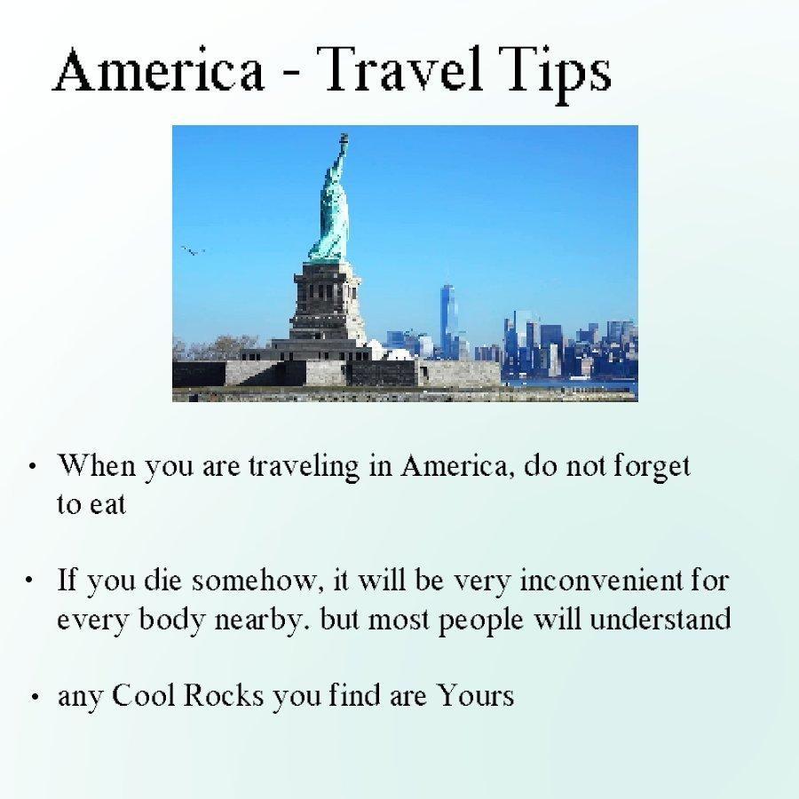 Travel Advice - meme