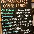 No nonsense coffee guide