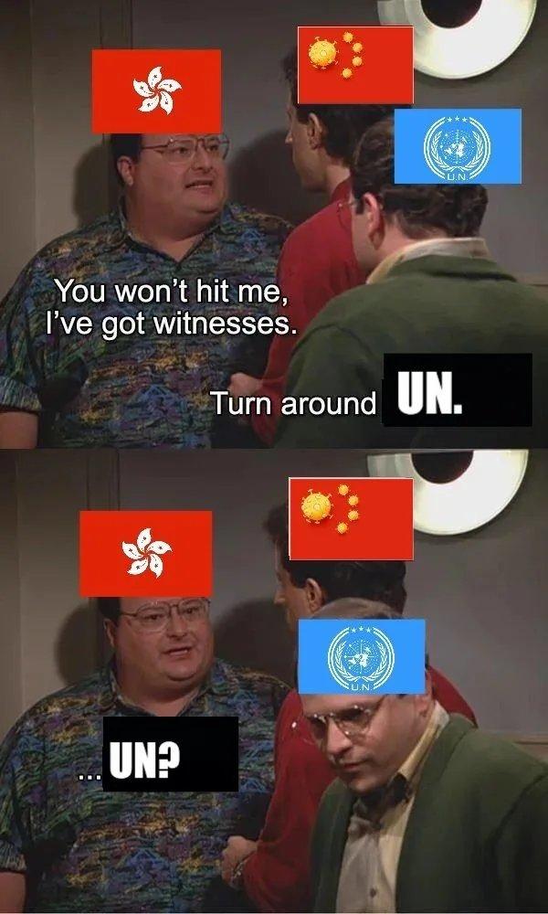 Hong Kong - meme