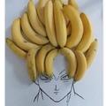 la evolución de bananas