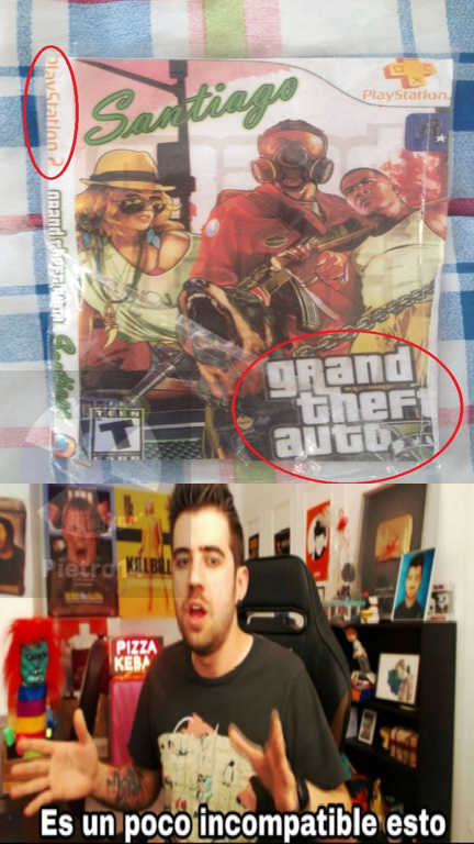 gta v para playstation 2 - meme