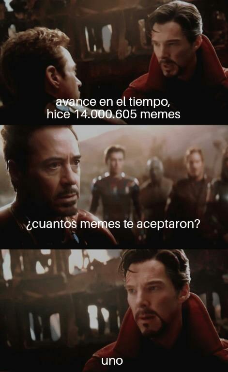 Uno solo - meme