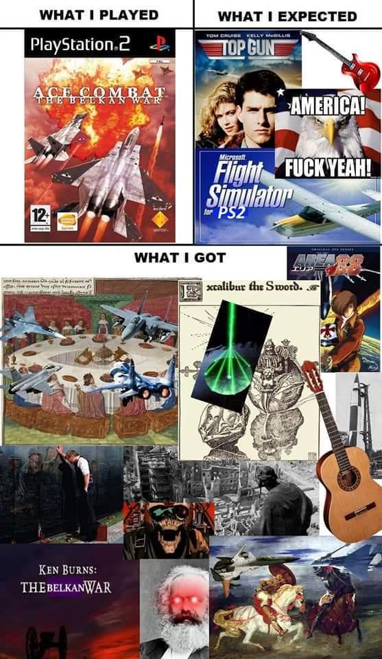 Ace combat - meme