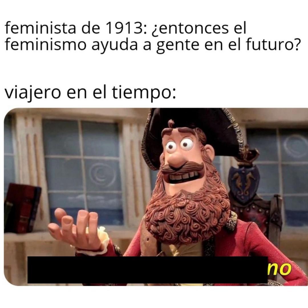 Feminismo actual - meme