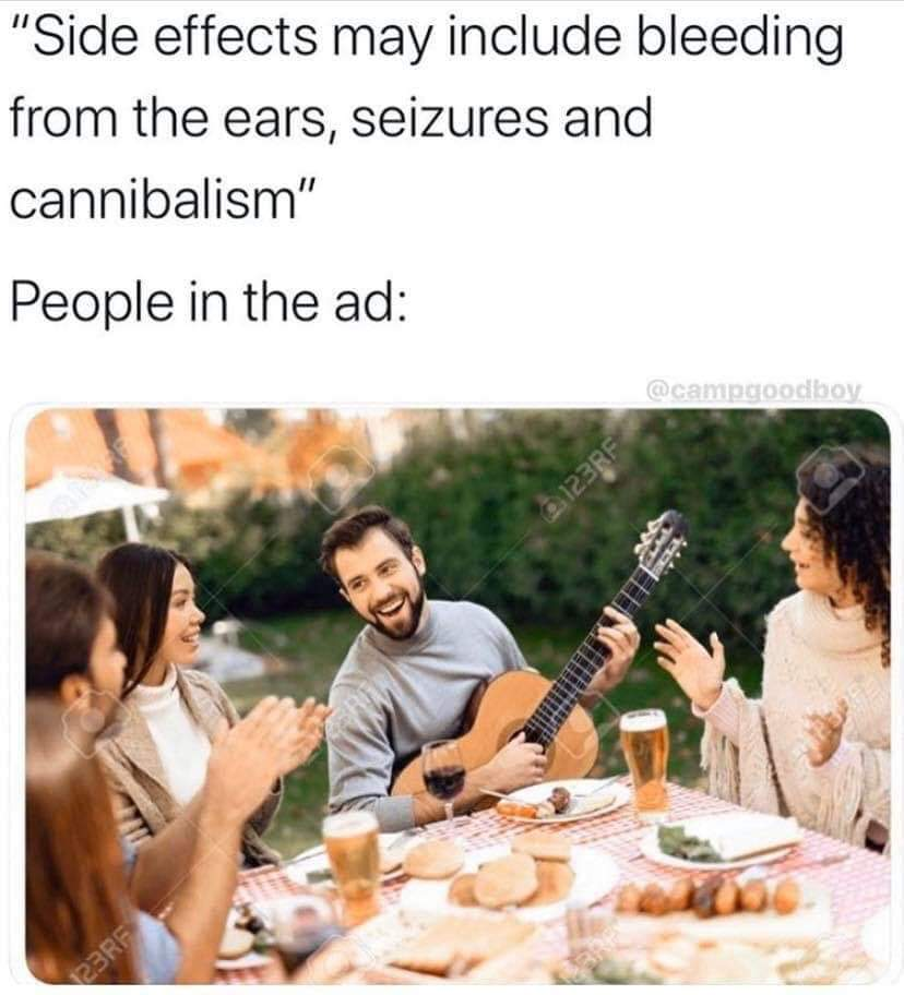 How bad can cannibalism actually be - meme
