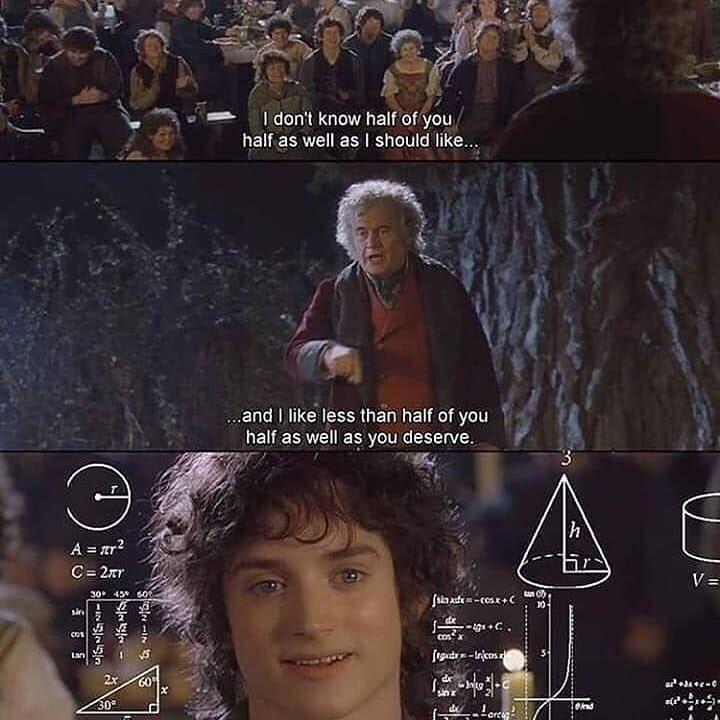 Ah classic Bilbo - meme