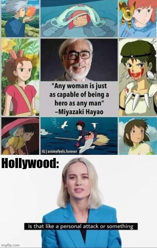 Hollywood diversity was a mistake. It's nothing but trash - meme