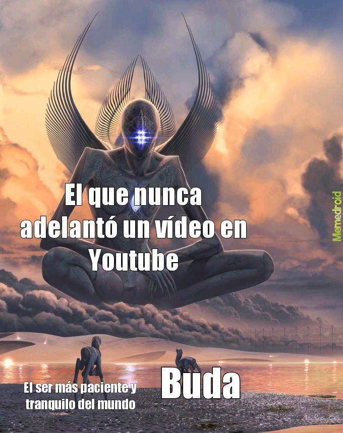 Alien buda - meme