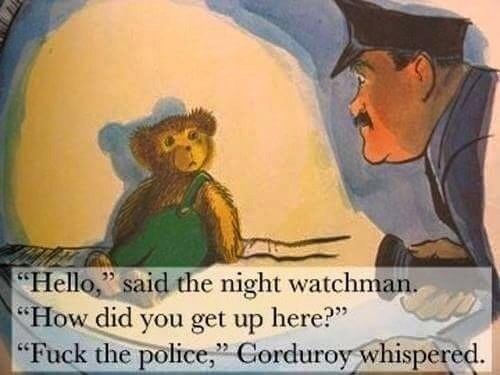 Scumbag Corduroy??? - meme