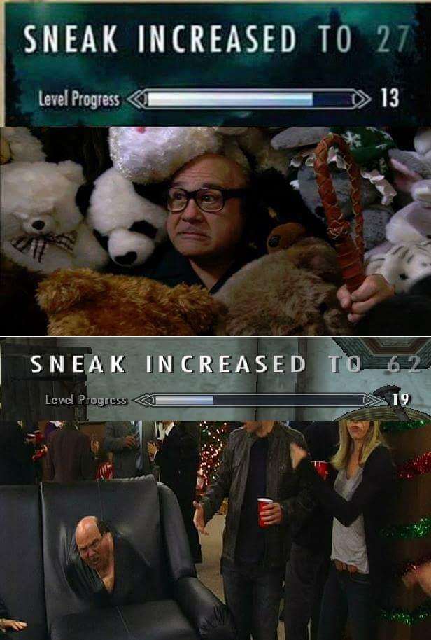 Sneak  (2/2) - meme