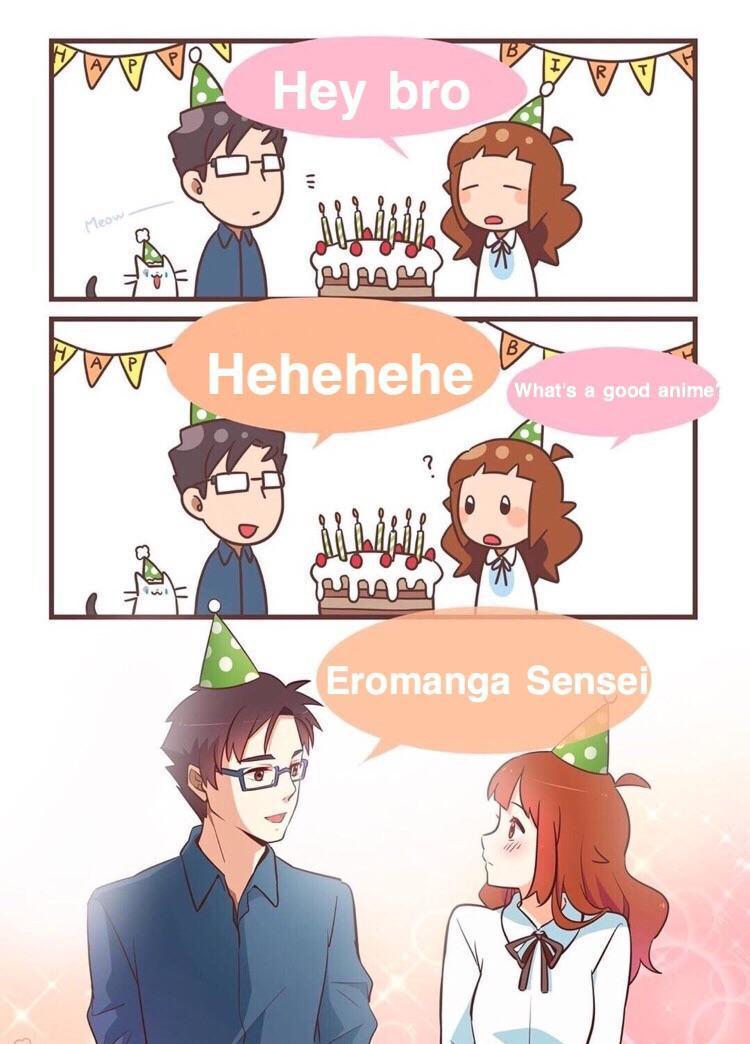 Eromanga Sensei - meme