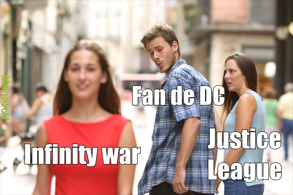 Me gusta mas DC - meme