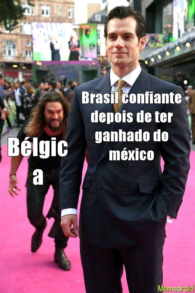 A Bélgica só sabe fazer chocolate - meme