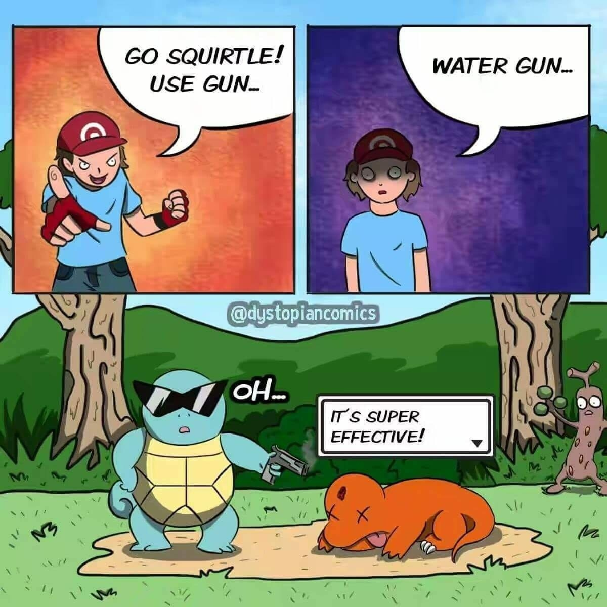 no squirtle - meme