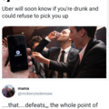 I've never used Uber