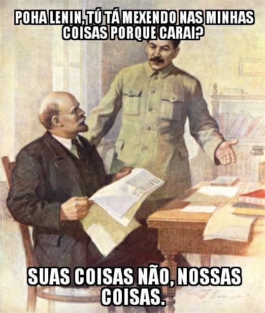 Comunismo não Funciona. - meme