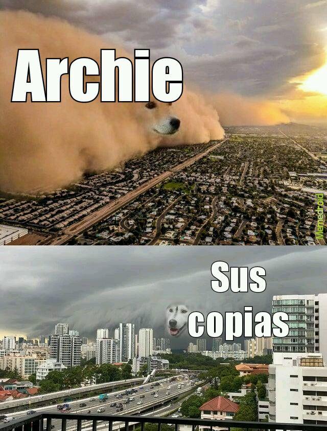 (Archi001.Archie002.Archie034el mas conocido....... - meme