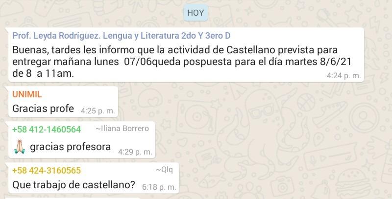 Que trabajo de Castellano? (en vacaciones dejare de subir screenshits c:) Pd: no acepten - meme
