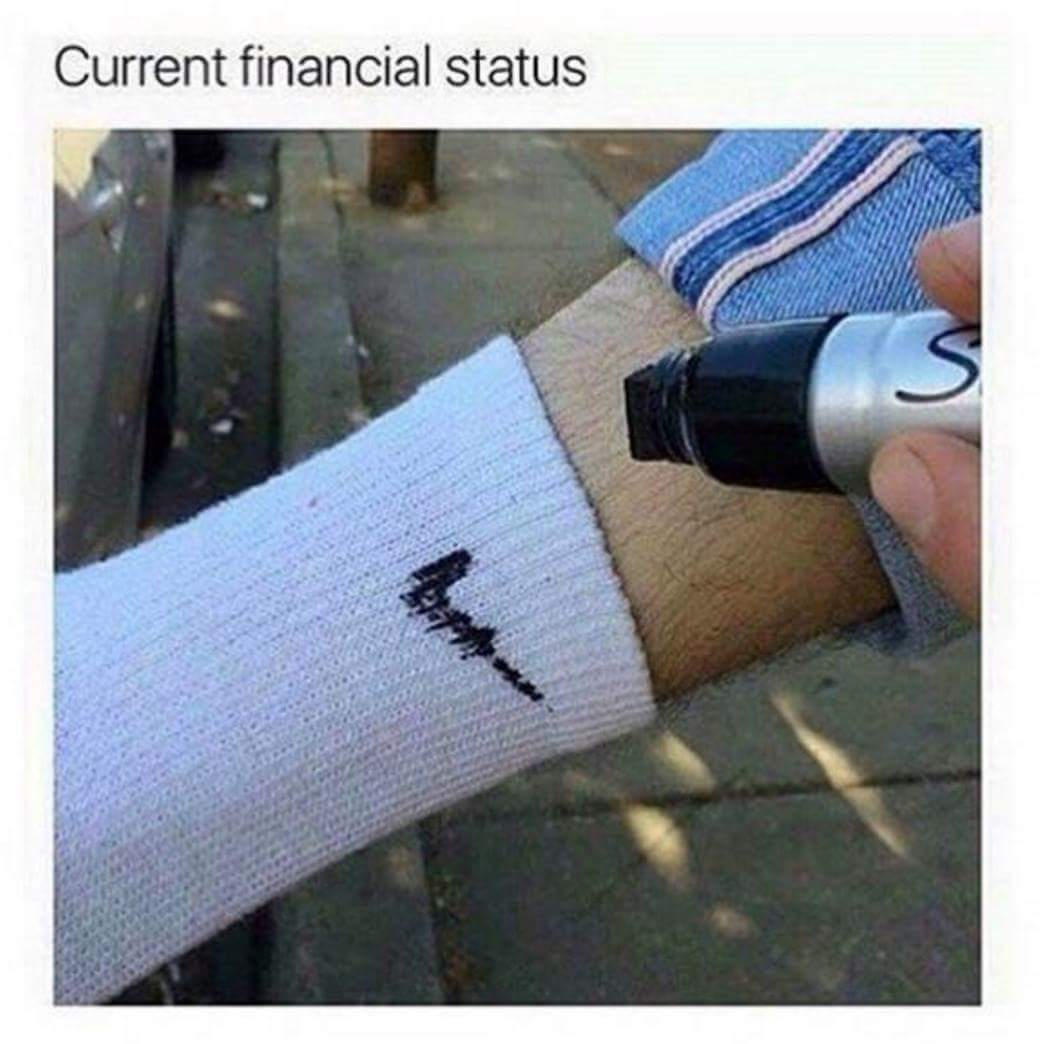 And i took out a second mortgage so i can get them new js meme