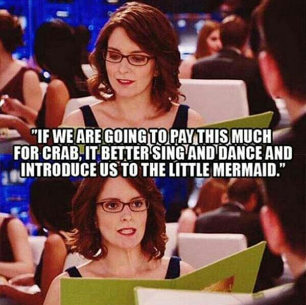 Tina Fey in Date Night - meme