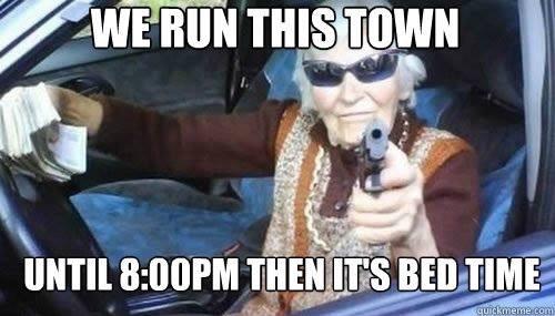 gangsta granny - meme