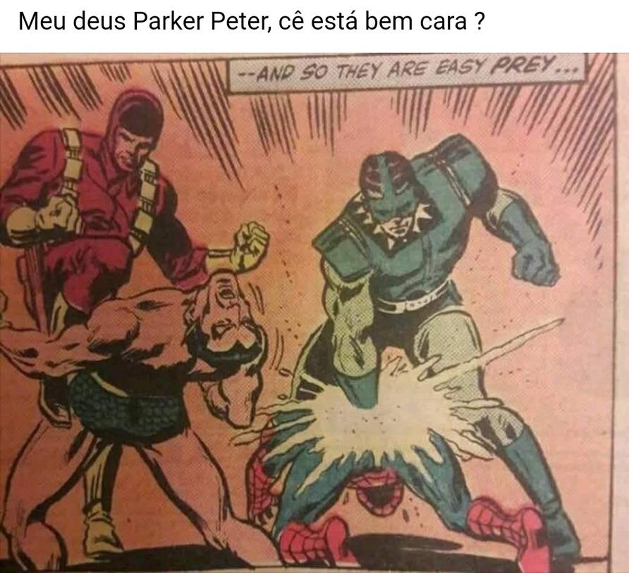 O que caralhos foi isso Peter - meme