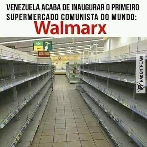 Não incentivam o consumismo, isso que é comunismo de verdade - meme