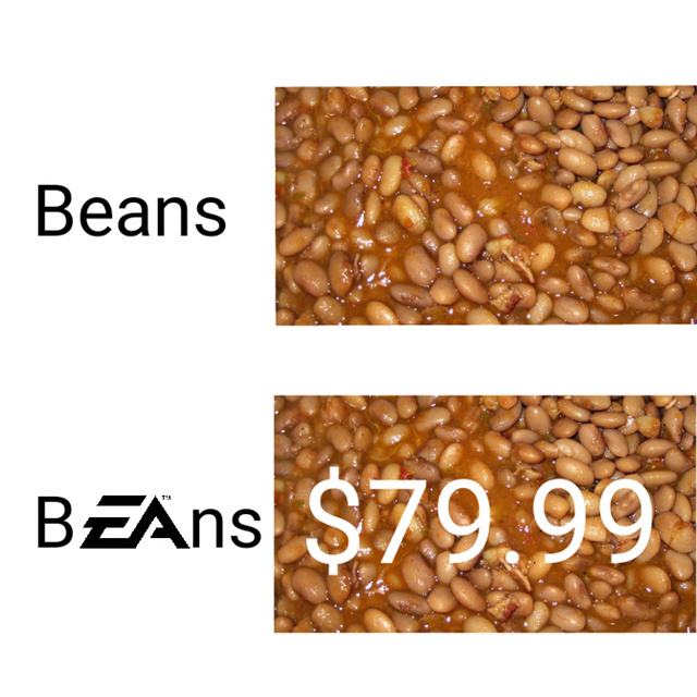 EA makes food now - meme