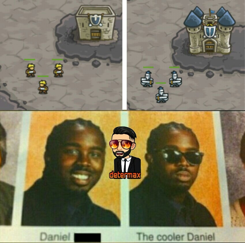 El juego se llama kingdom rush - meme