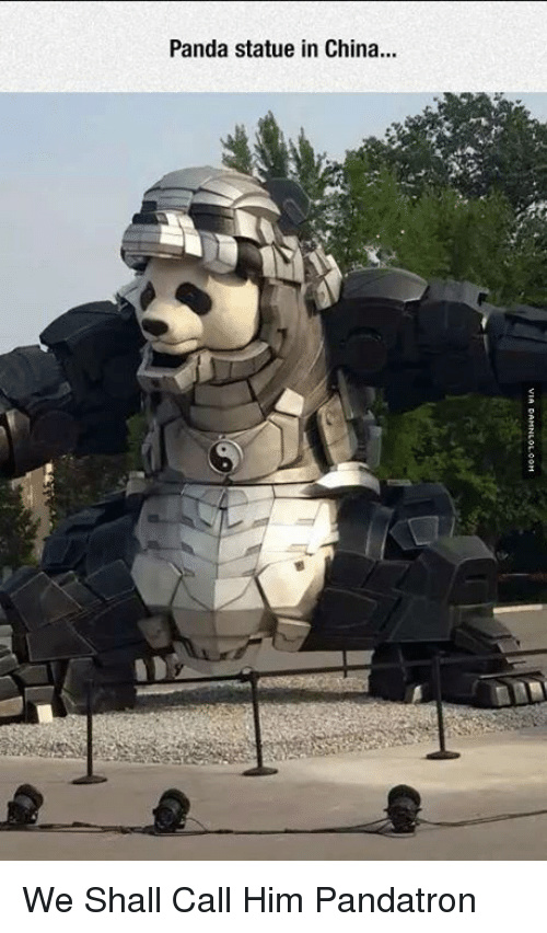 Aren't pandas cute? - meme