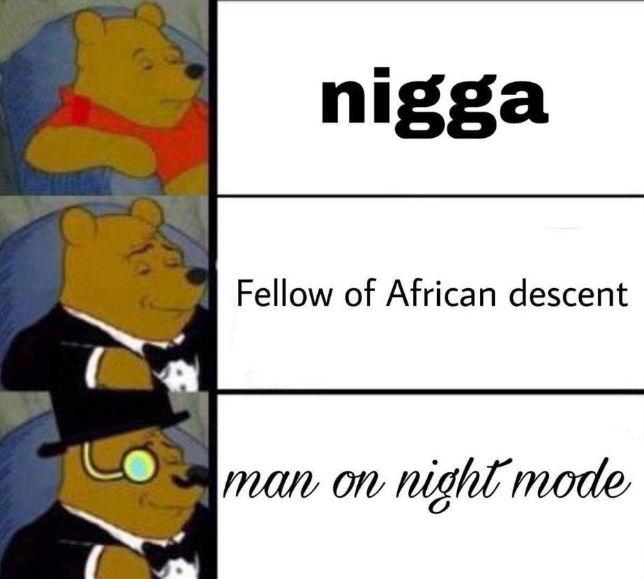 «Compagnon d'ascendence africaine» pour la 2eme phrase - meme