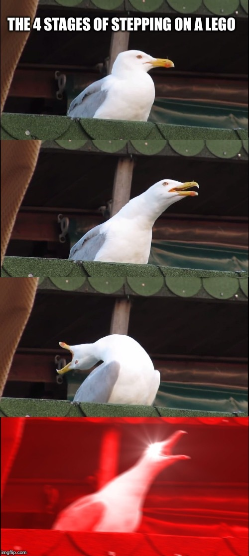 legos hurt - meme